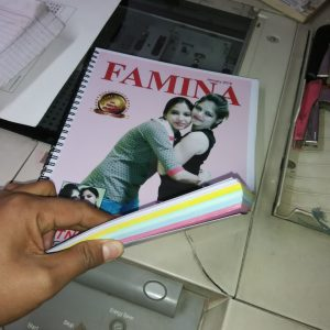 Notepad with personalized Cover